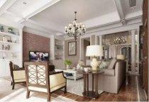 500平美式风格别墅装修案例