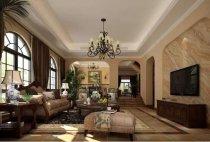 650平美式风格别墅装修案例