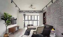 两室两厅89平米工业风格装修案例效果
