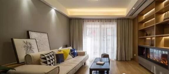 三居室112平米现代木色三室3