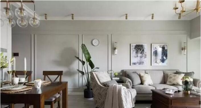 两shi两厅84平米美式风格装修1