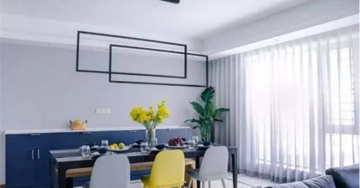 两室两厅93平米现代风格装修案例