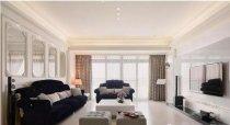 新古典的浪漫情怀 三居室140平米装修案例分享