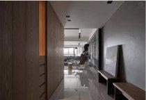 水泥灰堆砌房间 138平米台式风格装修案例效果