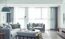 宁静的小家,两居室93平米现代风格装修案例