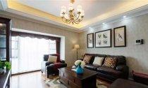 137平米三室两厅美式风格装修案例效果
