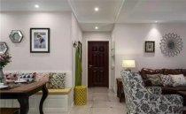 三居室120平米美式风格装修案例效果