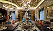 432平米别墅新古典风格装修案例效果