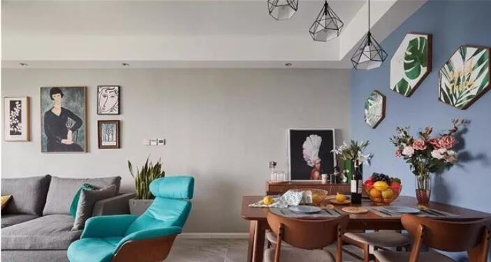 两居室85平米北欧风格装修案例效果3