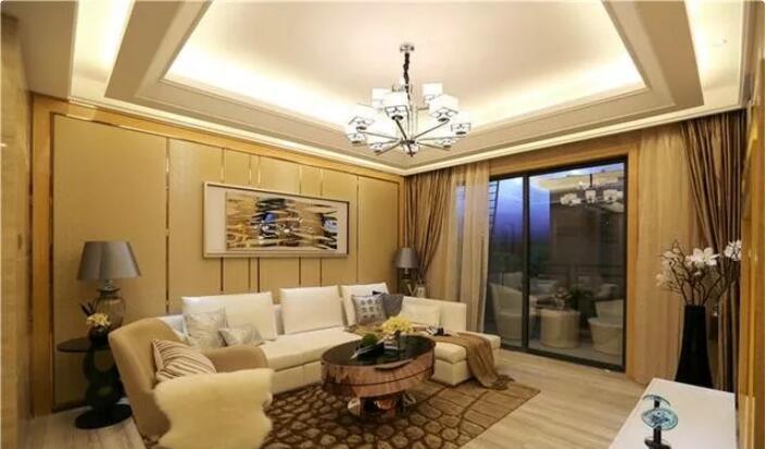 99平米两居室现代风格装修1