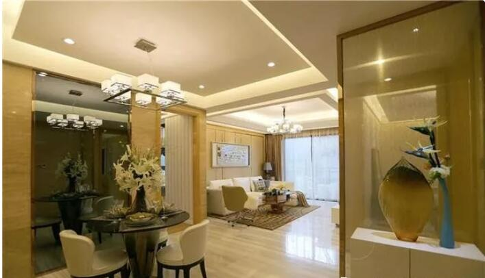 99平米两居室现代风格装修2
