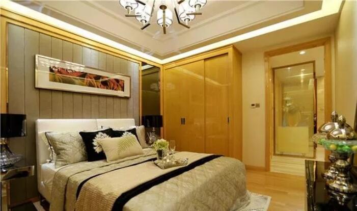 99平米两居室现代风格装修3