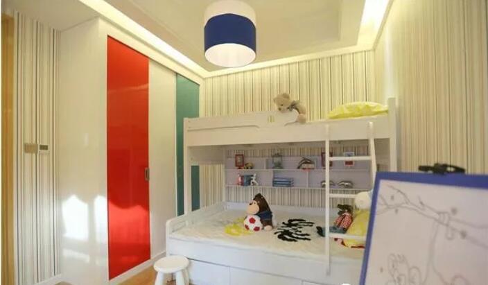 99平米两居室现代风格装修4