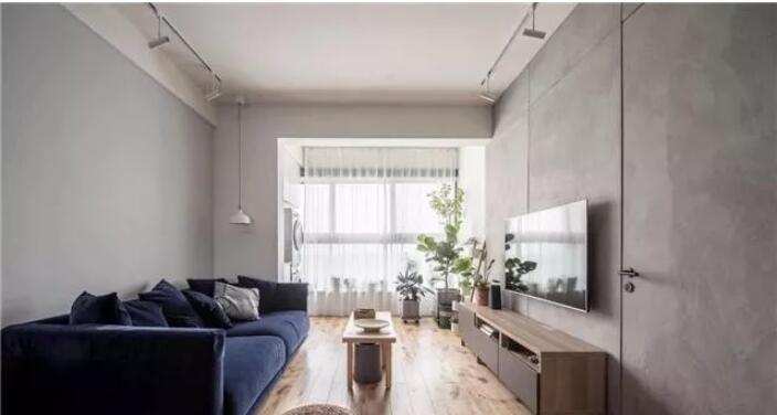 三居室现代风格装修案例1