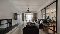 三居室145平米美式风格装修案例效果
