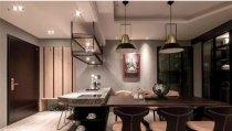 两居室107平米工业风格装修案例效果