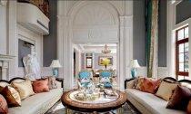338平米别墅装修实拍图,欧式风格装修大气