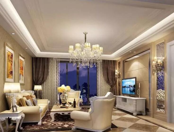 欧式客厅装修效果图精选