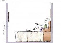卧室里装电视机的高度应该是多少