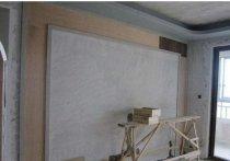 80*80的瓷砖做电视墙时间久会掉吗?