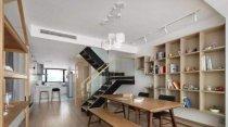 客厅如何装修成书房