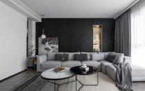 以黑白灰为主色调的家居如何选择窗帘?
